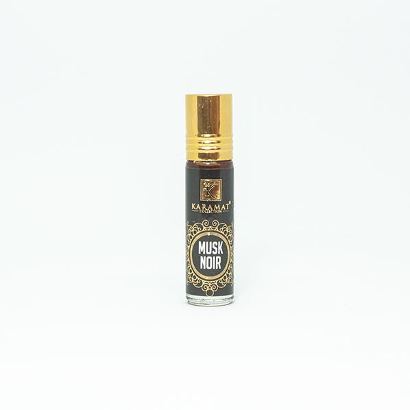 Musk Noir parfum roller, houtachtige musk parfum geur