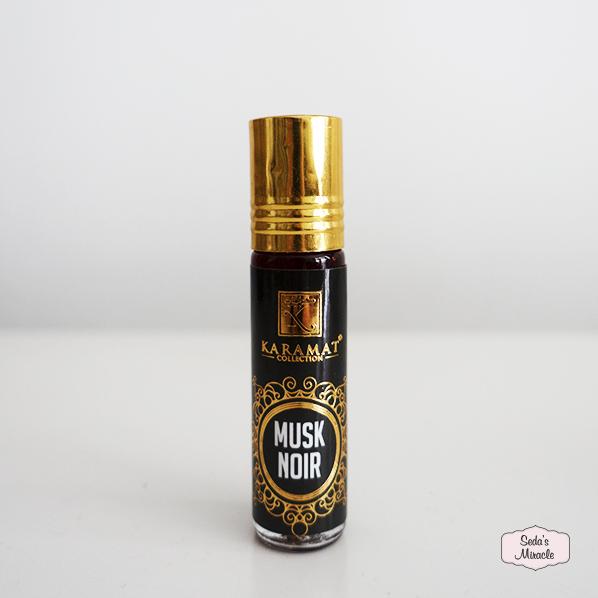 Musk noir parfum roller