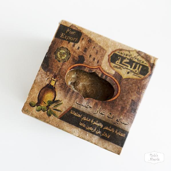 Natuurlijke Aleppo zeep met laurierbes