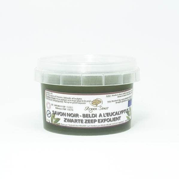 Zwarte Zeep / African Black Soap met eucalyptus