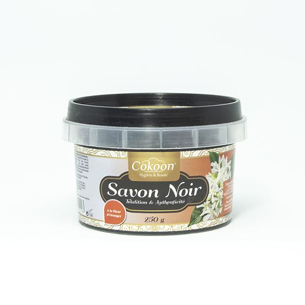 Zwarte Zeep / African Black Soap met oranjebloesem
