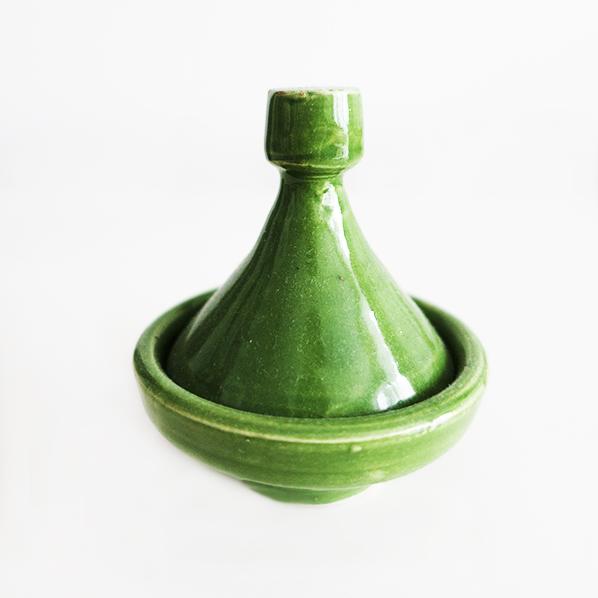 Handgemaakte Marokkaanse mini kruiden tajine