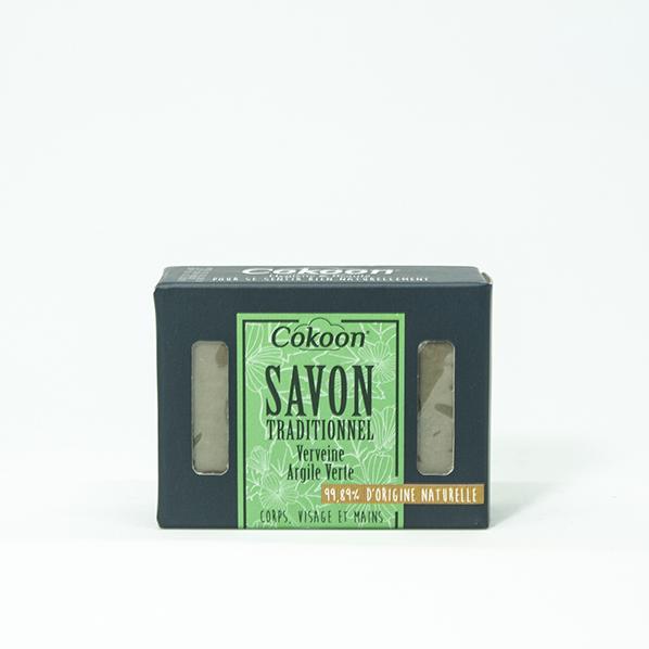 Verbena groene klei zeep met arganolie