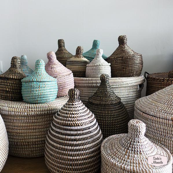 Afrikaanse handgemaakte manden