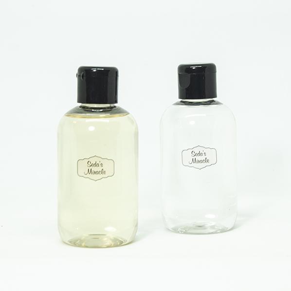 Oranjebloesemwater en rozenwater, natuurlijke facial toner, duo pack