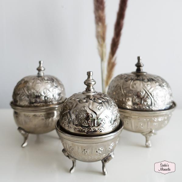 Authentieke Marokkaanse bakjes met deksel