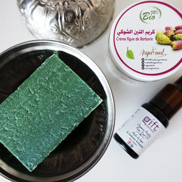 Cactusvijg beautypakket met pure biologische cactusvijgolie, cactusvijgzeep en cactusvijg gezichtscreme