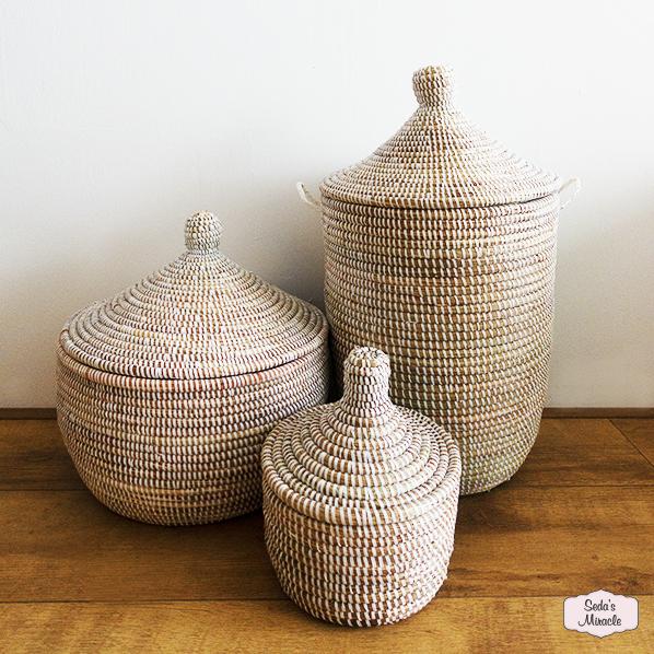 Handgemaakte Afrikaanse manden
