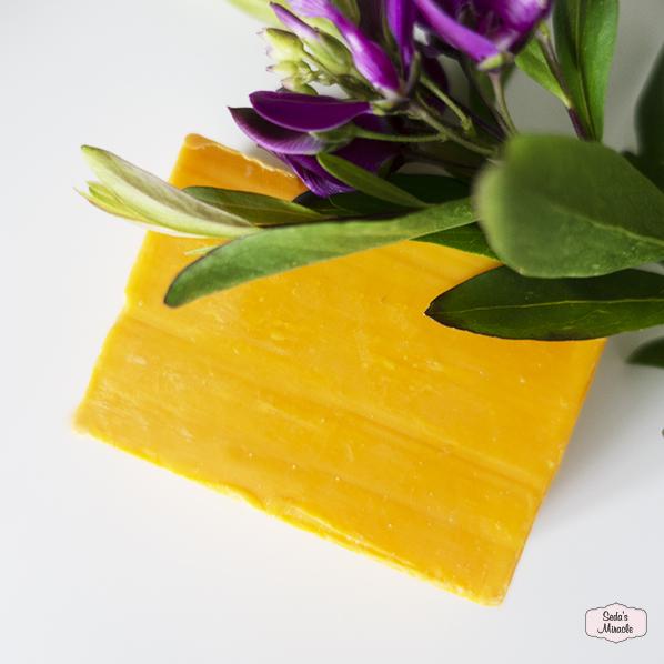 Saffraan zeep met arganolie