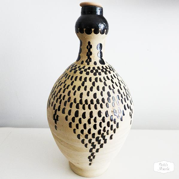 Handgemaakte Marokkaanse waterkruik