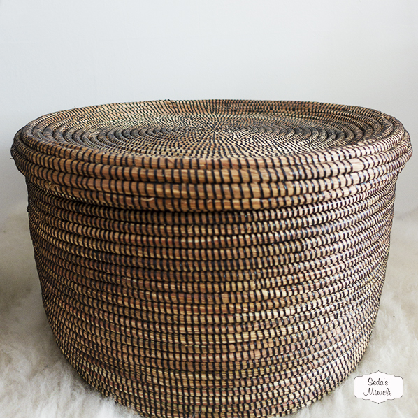 Handgemaakte Afrikaanse ronde mand