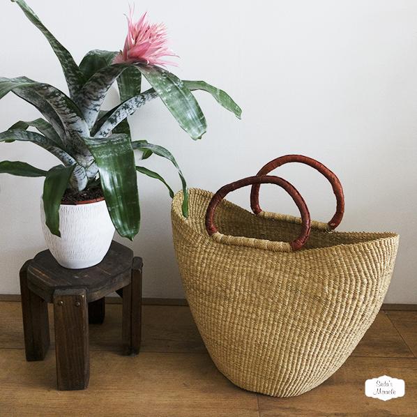Eliz handgemaakte Afrikaanse tas van zeegras