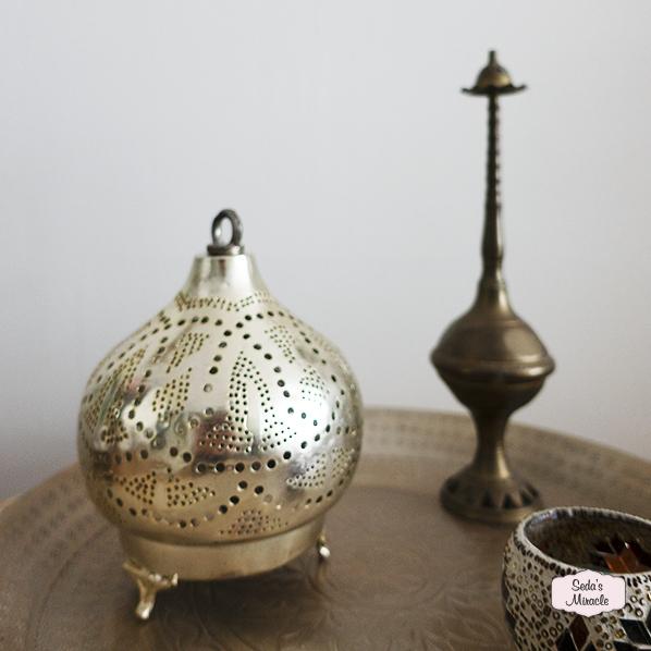 Handgemaakte arabische Irune tafellamp