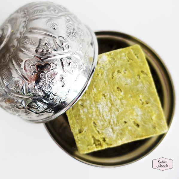 Authentiek Marokkaans bakje met natuurlijke zeewier zeep