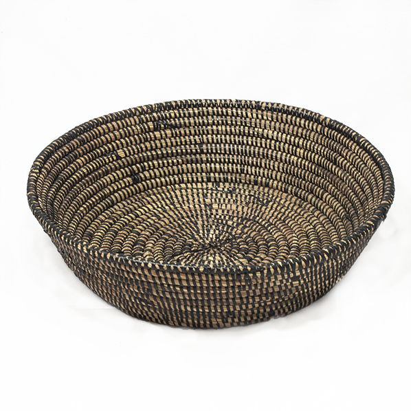 Handgemaakte Afrikaanse bruine schaal