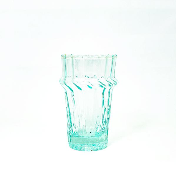 Handgemaakt Marokkaans Ghislaine beldi glas met wave