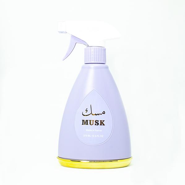 Roomspray, kamerspray, interieur parfum musk