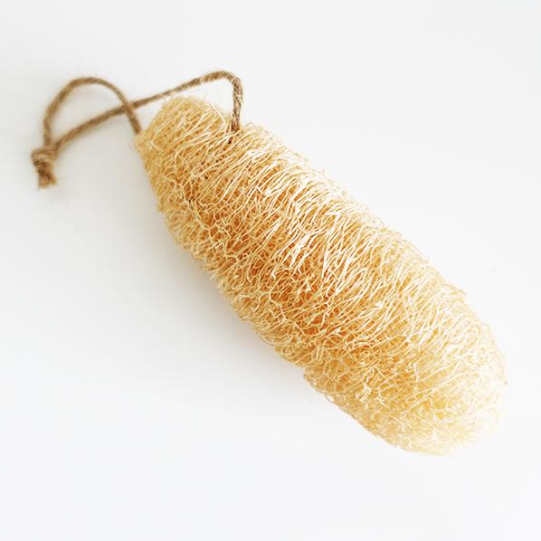 Natuurlijke Loofah scrub spons