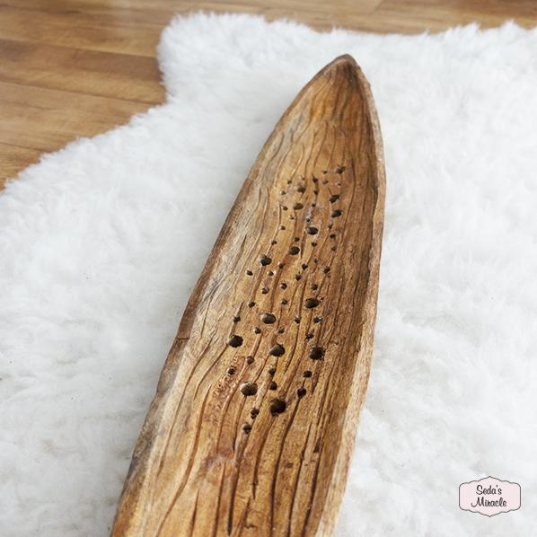 Handgemaakte houten Babor schaal, Fair Trade uit India