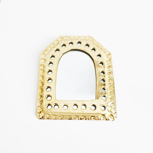 Handgemaakt Marokkaans Cleopatra spiegel, petit
