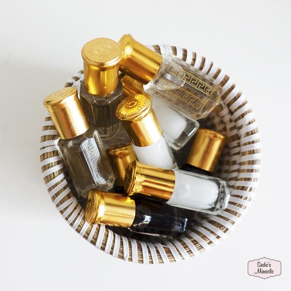 Geconcentreerde oudh, musk en musk jamid parfum