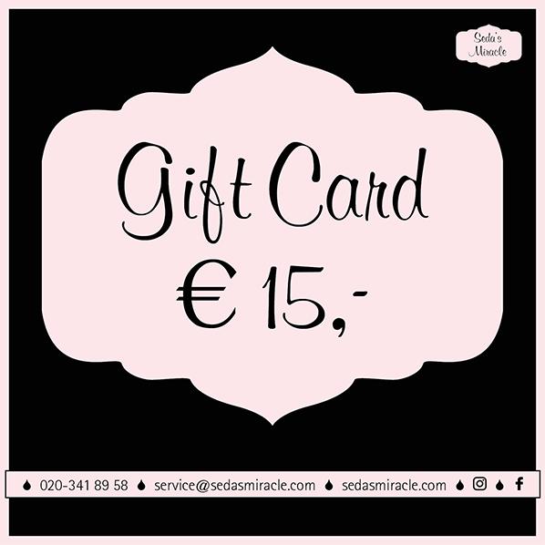 Seda's Gift Card