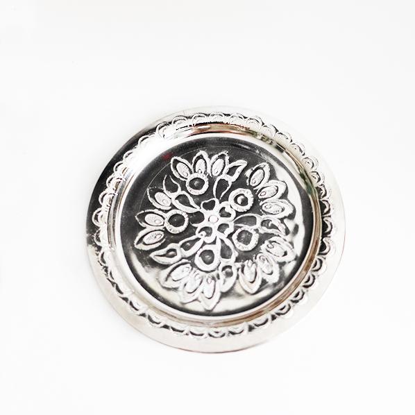 Handgemaakt Marokkaans schaaltje zilver, petit