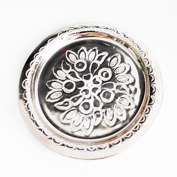 Handgemaakt Marokkaans schaaltje, zilver