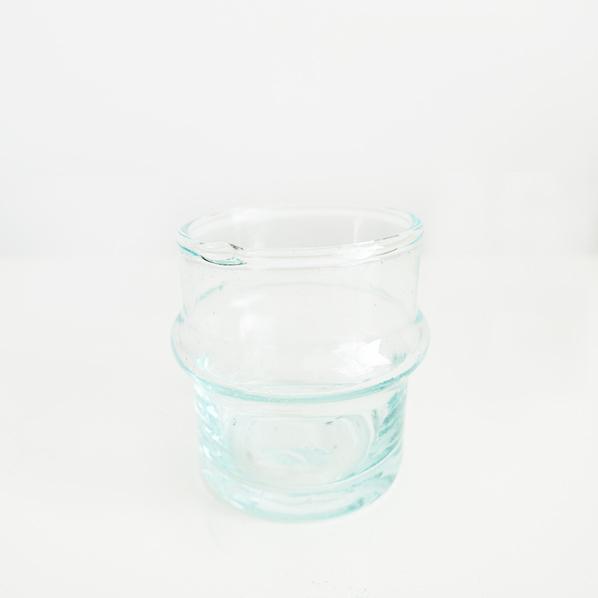 Handgemaakt Marokkaans beldi glas, petit