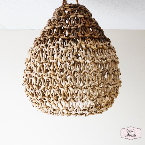 Handgemaakte Payza hanglamp