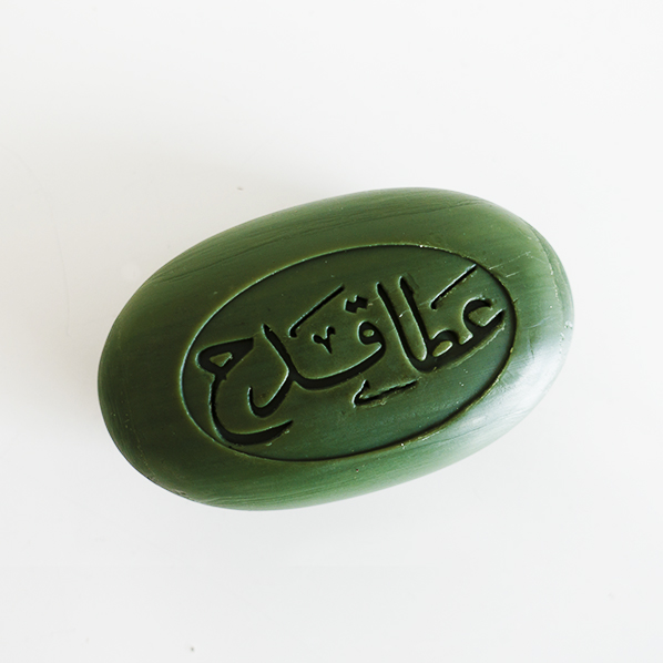 Natuurlijke olijfolie zeep met laurierbes