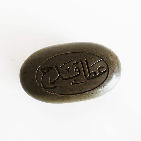 Natuurlijke olijfolie zeep met zwarte zaadolie