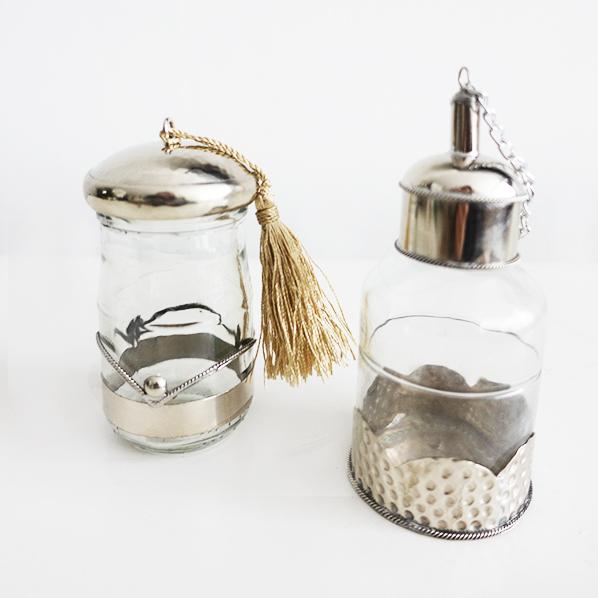 Suba cadeaupakket met handgemaakt Marokkaans kruidenpotje en olieflesje