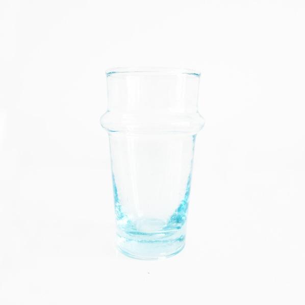 Handgemaakt Marokkaans beldi glas, large