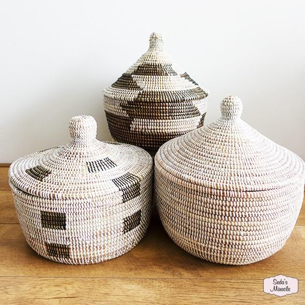 Handgemaakte Afrikaanse tajine manden