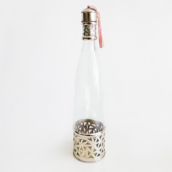 Handgemaakte Marokkaanse fles, large, 1 liter