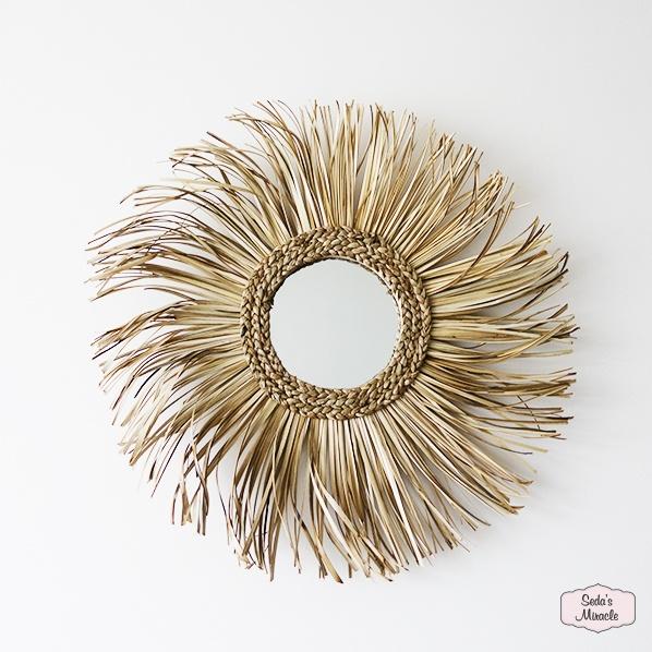 Handgemaakte Shama spiegel