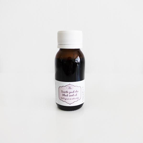 Pure natuurlijke zwarte zaad olie / black seed olie / habba sawda