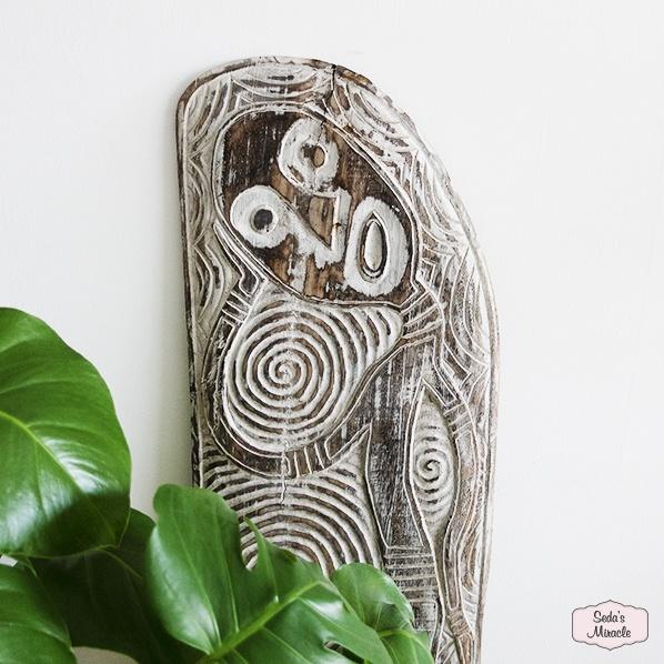 Handgemaakte Afrikaanse houten Yaro board