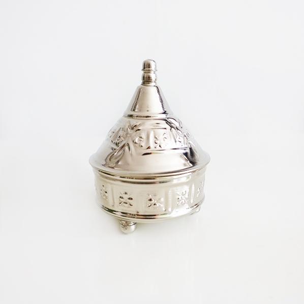 Handgemaakte Marokkaanse tajine zilver, small