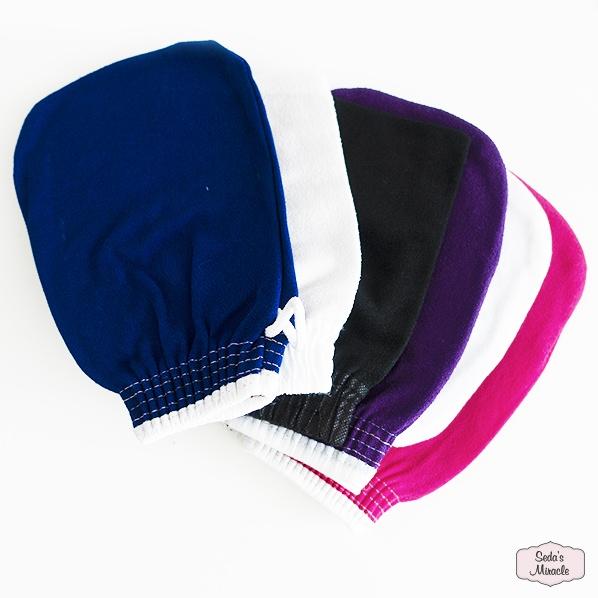Hamam scrub handschoen of kessa glove